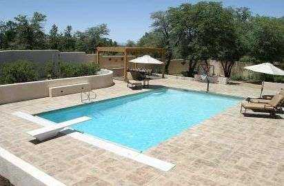 Sedona Pool with Pool Cover and Solar